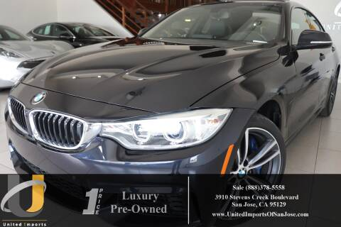 2017 BMW 4 Series 440i xDrive Gran Coupe for sale at United Imports in San Jose CA