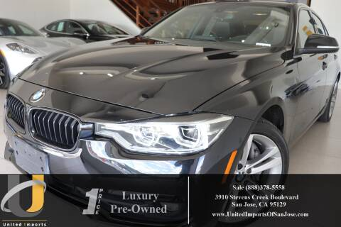 2017 BMW 3 Series 340i for sale at United Imports in San Jose CA
