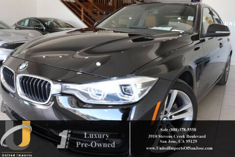2017 BMW 3 Series 330e iPerformance for sale at United Imports in San Jose CA