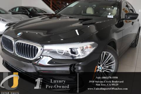 2018 BMW 5 Series 530i for sale at United Imports in San Jose CA