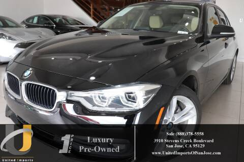 2018 BMW 3 Series 320i for sale at United Imports in San Jose CA