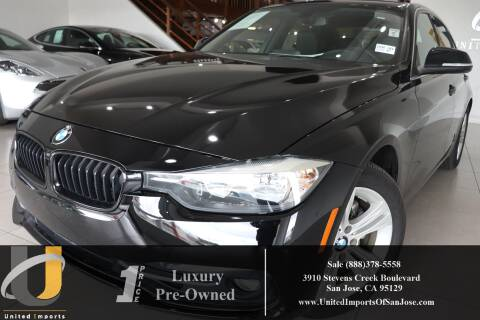 2017 BMW 3 Series 330i for sale at United Imports in San Jose CA
