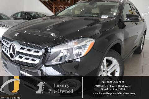2018 Mercedes-Benz GLA GLA 250 4MATIC for sale at United Imports in San Jose CA