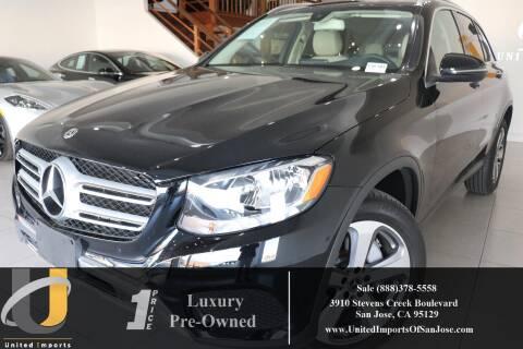 2018 Mercedes-Benz GLC GLC 300 4MATIC for sale at United Imports in San Jose CA