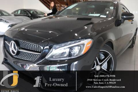 2017 Mercedes-Benz C-Class C 300 for sale at United Imports in San Jose CA