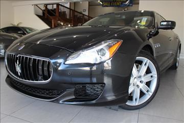 2014 Maserati Quattroporte for sale in San Jose, CA
