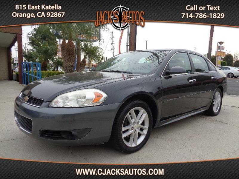 chevrolet ltz impala listing car interior sedan