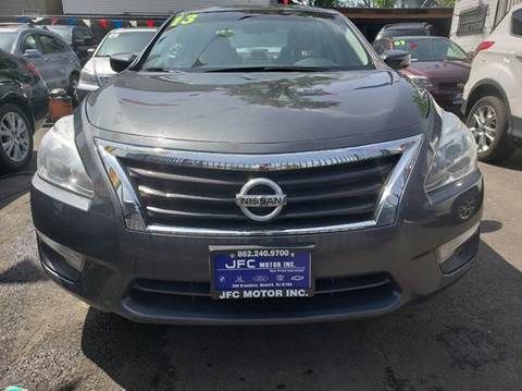 2013 Nissan Altima for sale at JFC Motors Inc. in Newark NJ