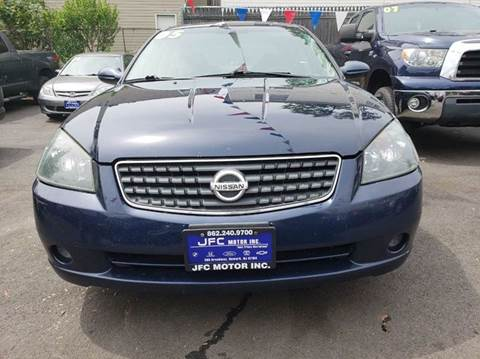 2005 Nissan Altima for sale at JFC Motors Inc. in Newark NJ