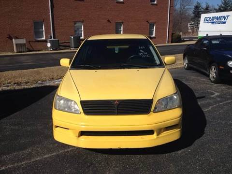 2002 Mitsubishi Lancer for sale at STARLITE AUTO SALES LLC in Amelia OH