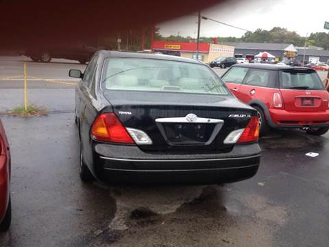 2001 Toyota Avalon for sale at STARLITE AUTO SALES LLC in Amelia OH