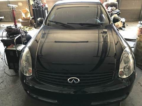 2003 Infiniti G35 for sale at STARLITE AUTO SALES LLC in Amelia OH