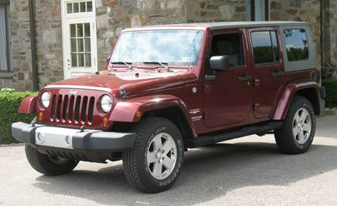 2010 Jeep Wrangler Unlimited for sale in Norristown, PA