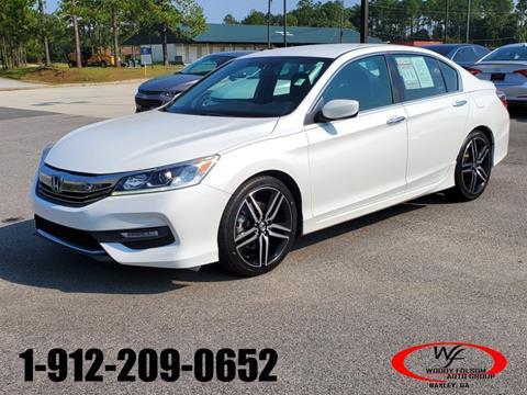 2016 Honda Accord for sale in Hazlehurst, GA