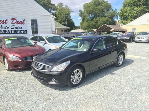 2012 Infiniti G25 Sedan for sale in Bear, DE