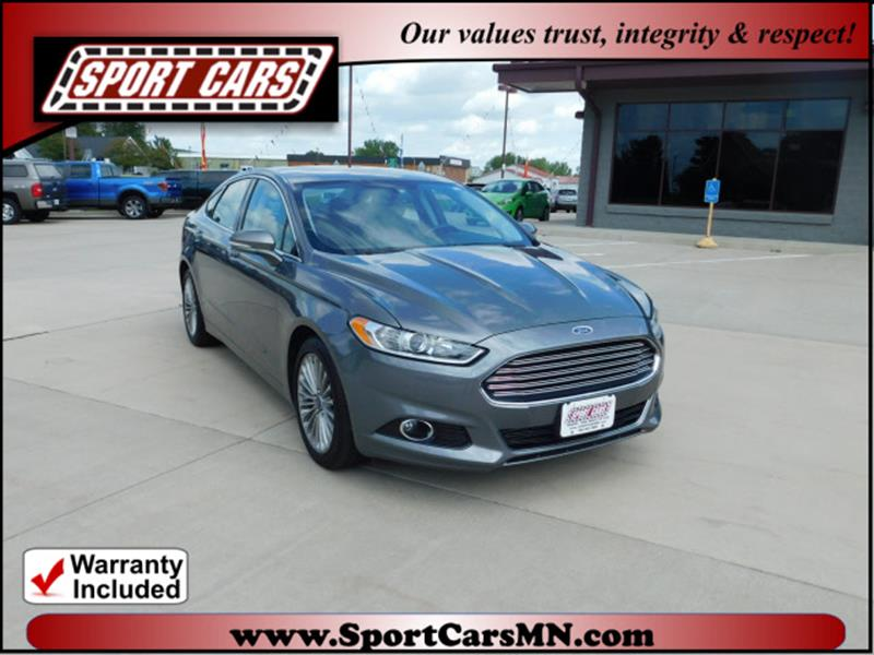 2014 Ford Fusion for sale at SPORT CARS in Norwood MN