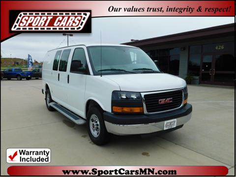 2016 GMC Savana Cargo for sale at SPORT CARS in Norwood MN