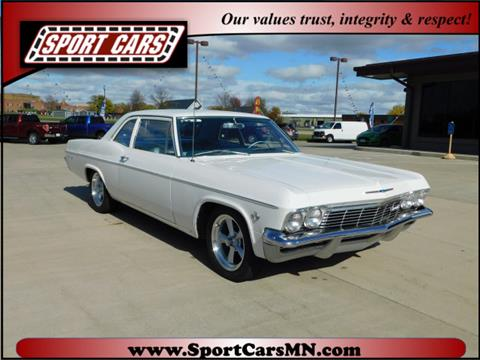 1965 Chevrolet Bel Air for sale at SPORT CARS in Norwood MN