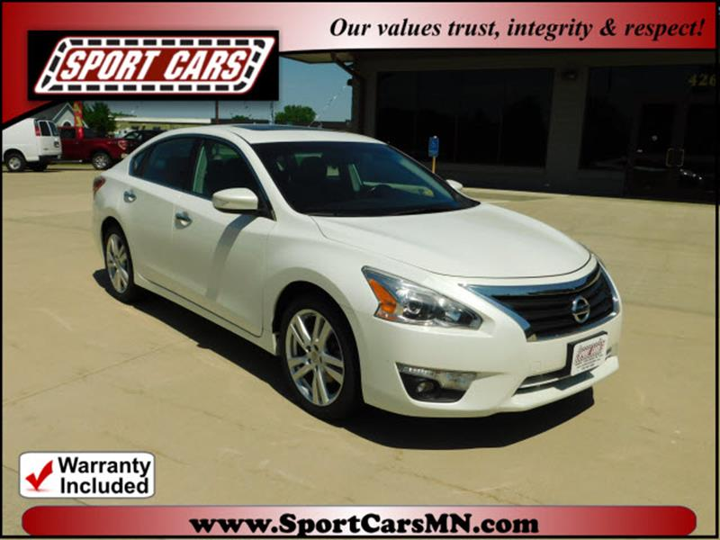 2013 Nissan Altima For Sale At SPORT CARS In Norwood MN