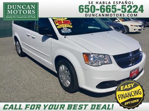 2014 Dodge Grand Caravan for sale in San Carlos CA