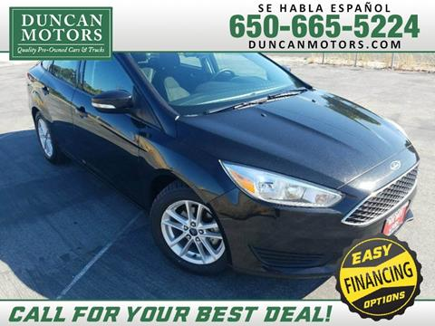 2015 Ford Focus for sale in San Carlos CA