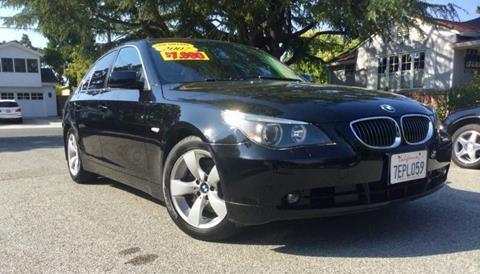 2007 BMW 5 Series for sale in San Carlos CA