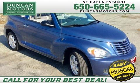 2007 Chrysler PT Cruiser for sale in San Carlos CA