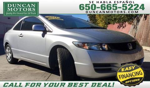 2011 Honda Civic for sale in San Carlos CA