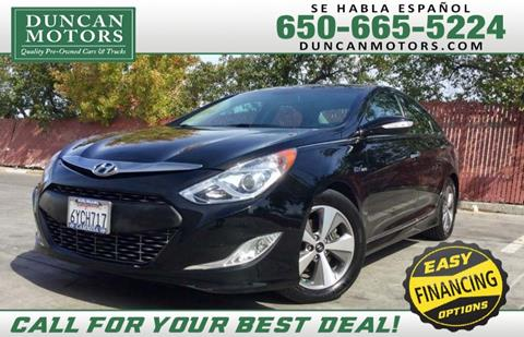 2012 Hyundai Sonata Hybrid for sale in San Carlos CA