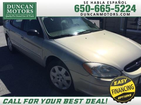 2003 Ford Taurus for sale in San Carlos CA