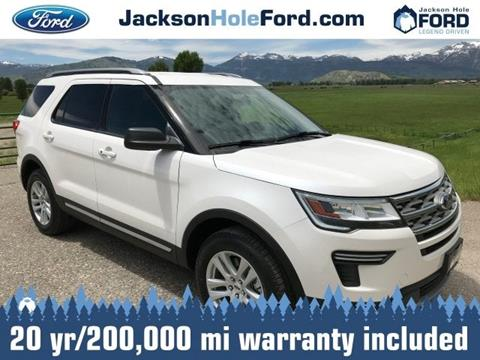 2018 Ford Explorer for sale in Alpine, WY