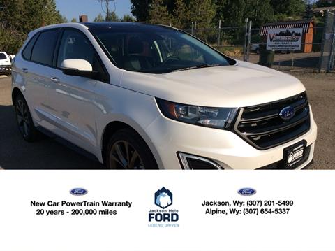 Ford Edge For Sale At Jackson Hole Ford Of Alpine In Alpine Wy