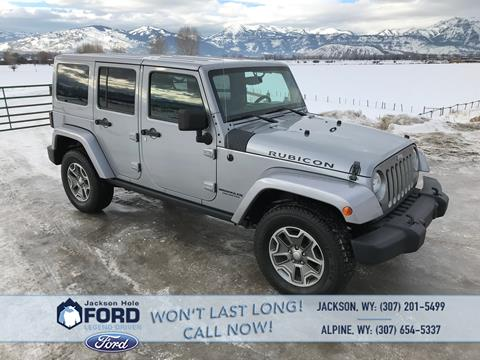 2014 Jeep Wrangler Unlimited for sale in Alpine, WY