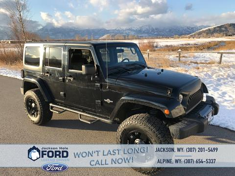 2013 Jeep Wrangler Unlimited for sale in Alpine, WY