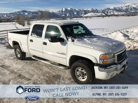 2004 GMC Sierra 2500HD for sale in Alpine, WY