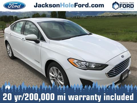 2019 Ford Fusion Hybrid for sale in Alpine, WY