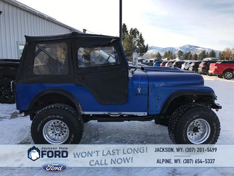 1975 Jeep CJ-5 for sale in Alpine, WY