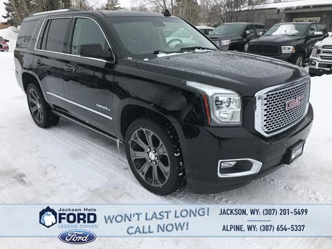 2016 GMC Yukon for sale in Alpine, WY