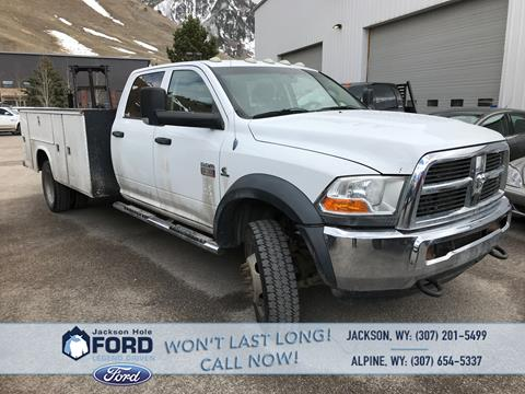 2011 RAM Ram Chassis 5500 for sale in Alpine, WY