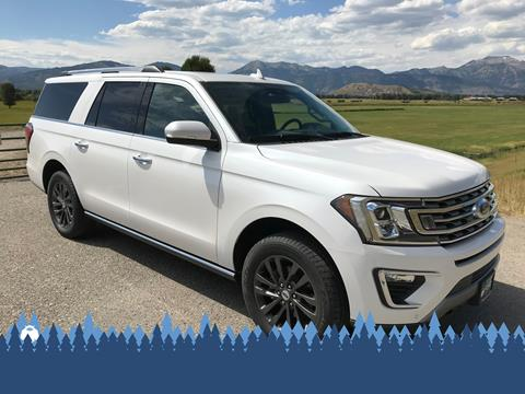 2019 Ford Expedition MAX for sale in Alpine, WY