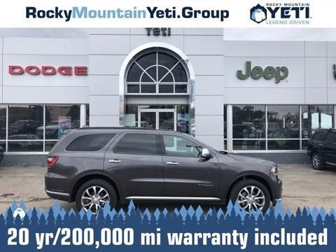 2018 Dodge Durango for sale in Alpine, WY