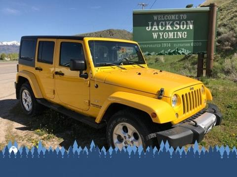 2015 Jeep Wrangler Unlimited for sale in Alpine, WY