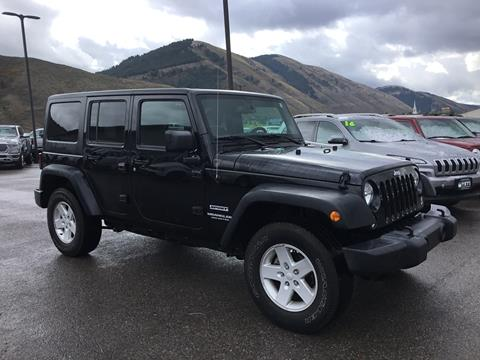 2017 Jeep Wrangler Unlimited for sale in Alpine, WY