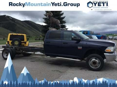 2012 RAM Ram Chassis 5500 for sale in Alpine, WY