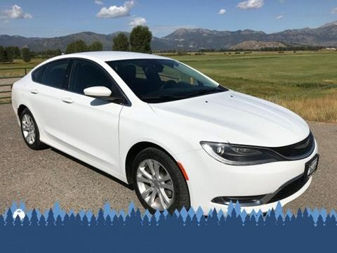 2015 Chrysler 200 for sale in Alpine, WY