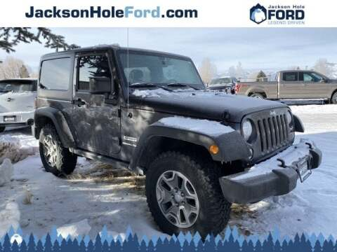 2018 Jeep Wrangler JK for sale at Jackson Hole Ford of Alpine in Alpine WY