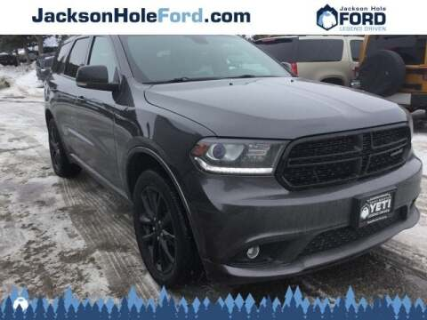 2018 Dodge Durango GT for sale at Jackson Hole Ford of Alpine in Alpine WY