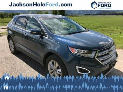 2016 Ford Edge SEL for sale at Jackson Hole Ford of Alpine in Alpine WY