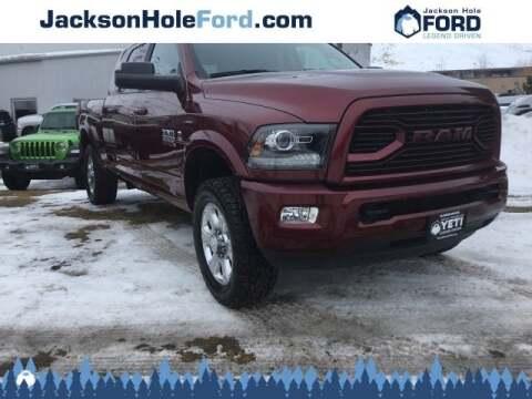 2018 RAM Ram Pickup 3500 Laramie for sale at Jackson Hole Ford of Alpine in Alpine WY
