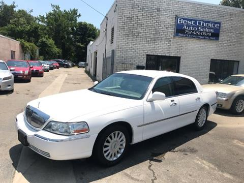 2005 Lincoln Town Car for sale in Virginia Beach, VA